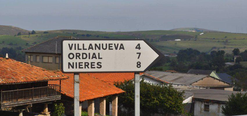 Route in Spain